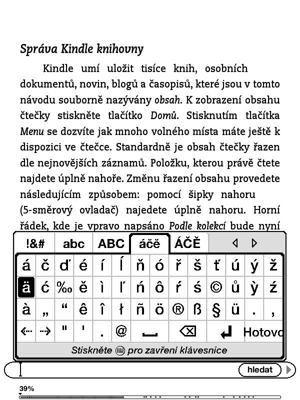 Čeština pro Kindle 5 a zajisté i Kindle 4, jailbreak Kindle 5 a Kindle 4