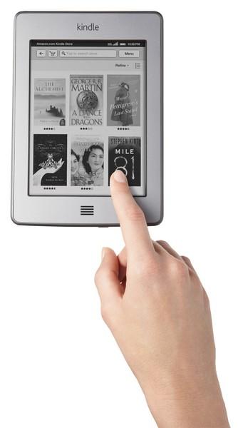 Čtečka amazon Kindle Touch s dotykovým displejem