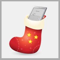 Čtečka elektronických knih Amazon Kindle Vánoce