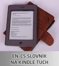 Anglicko cesky slovnik Amazon Kindle Touch
