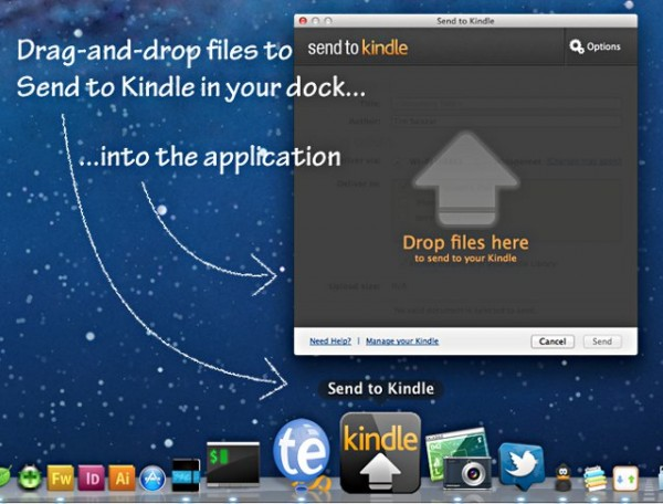 Send To Kindle MAC
