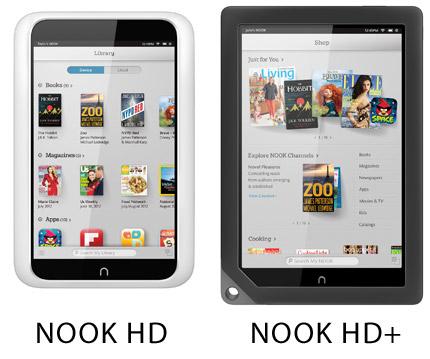 Nook HD a Nook HD+