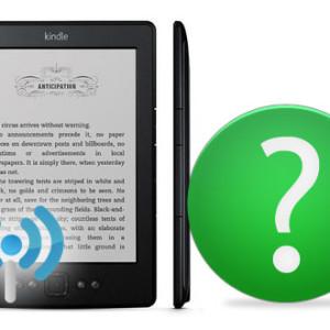 1. Připojení Kindle k WiFi - český návod Kindle 5 / Kindle 4