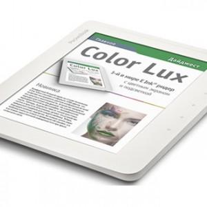 Už se začne prodávat první čtečka s barevným E Ink displejem