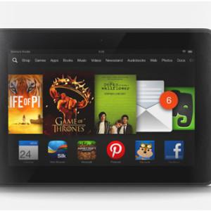 Tablet Kindle Fire HD 7 zdarma pro vývojáře