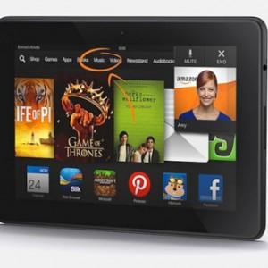 Nové tablety Kindle Fire HDX