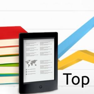 Žebříček nejprodávanějších elektronických knih v srpnu 2013