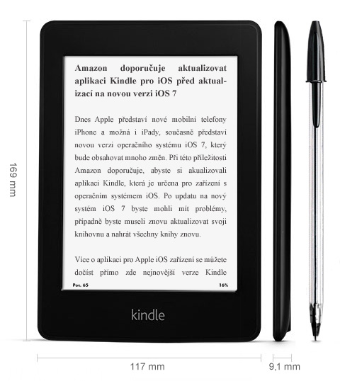 Nový Kindle Paperwhite