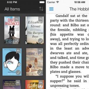 Amazon vydal novou verzi aplikace Kindle 4.00 pro zařízení s iOS