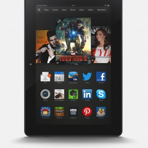 Akce Kindle Fire HD 7 za 3 600 Kč