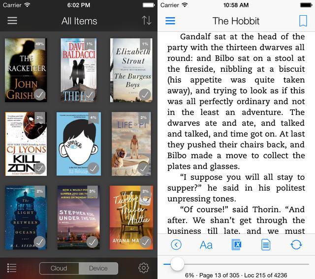 Nová aplikace Kindle 4.00 pro zařízení s iOS