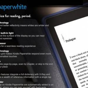 Nový Kindle Paperwhite je oficiálně na světě