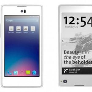 Další ukázka využití E-ink displeje, tentokrát mobilní telefon YotaPhone