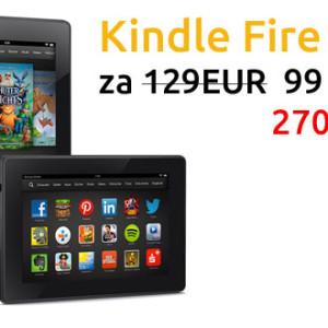 Vánoční akce na tablet Kindle Fire HD a čtečku eknih Kindle 5