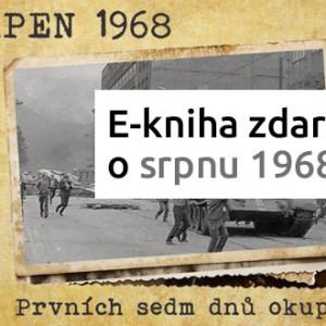 E-kniha o srpnu 1968 od Českého rozhlasu zdarma