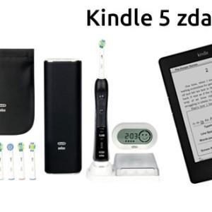 Akce k el. kartáčku Braun Oral 7000 Kindle 5 zdarma - úspora 4000 Kč