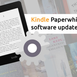 Starší Kindle Paperwhite má nový software update 5.3.9