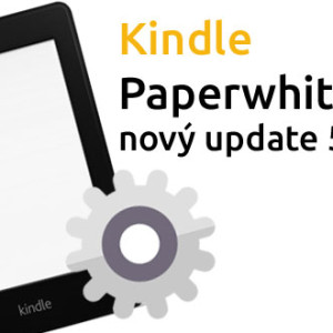 Kindle Paperwhite 2 dostal nový update 5.4.2