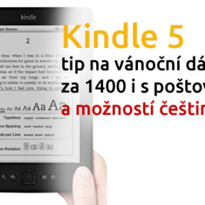 Amazon Kindle 5 akce