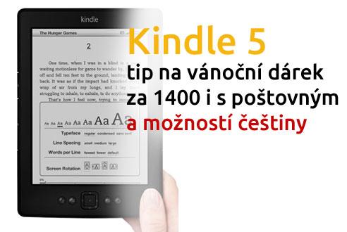 Amazon Kindle 5 akce