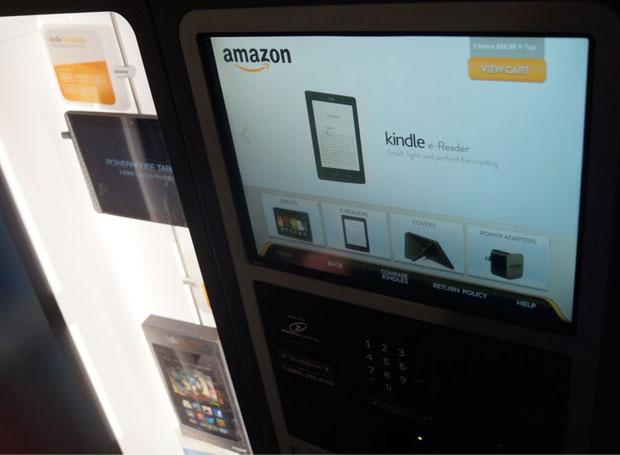 Amazon začal prodávat eknihy v kiosku
