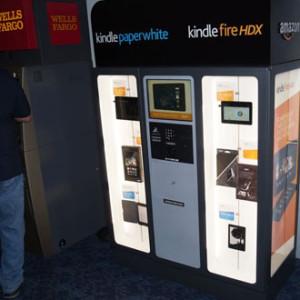 Amazon začal prodávat tablety a příslušenství v kioscích