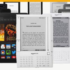 Podívejte se jak firma Amazon přicházela na trh s novými čtečkami eknih Kindle a tablety Kindle Fire