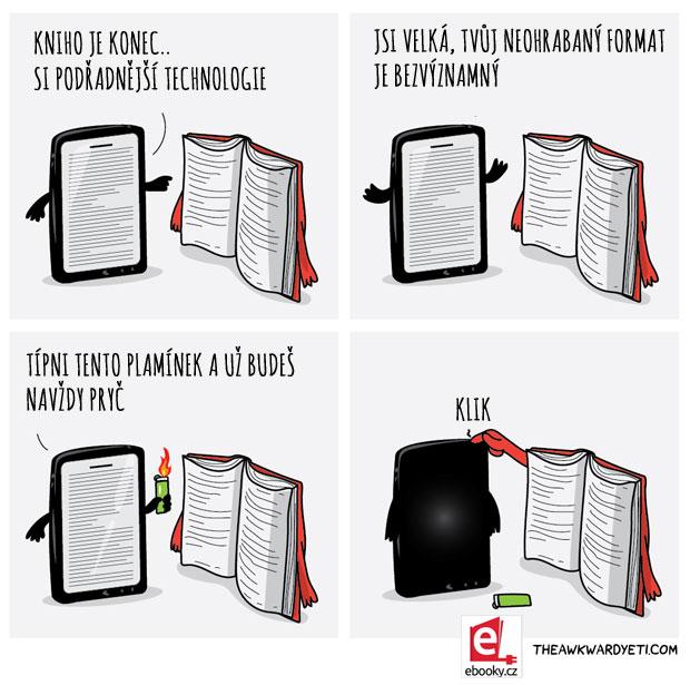 Eknihy VS Tištěné knihy
