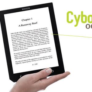 """Bookeen Cybook Ocean čtečka eknih s 8"""" displejem"""