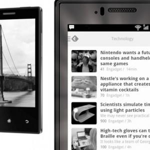 Smartphone s E-Ink displejem - Midia InkPhone