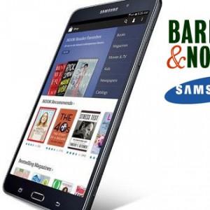Barnes & Noble spojil síly se Samsungem a představí tablet Galaxy Tab4 Nook
