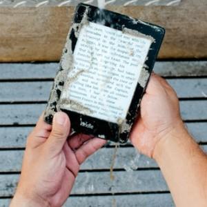 Voděodolná čtečka eknih Kindle Paperwhite