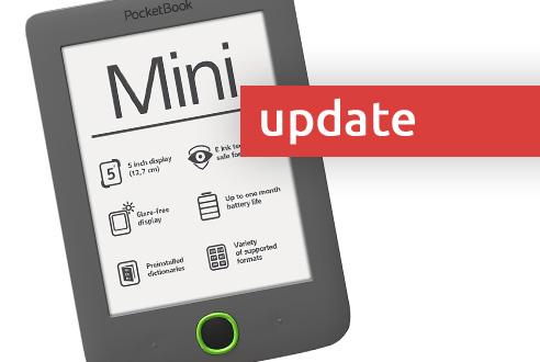PocketBook Mini update