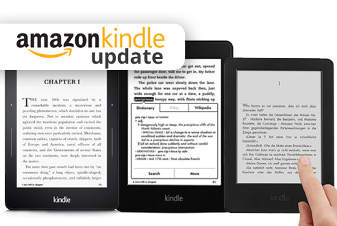 Update Kindle 6, Voyage, Kindle Paperwhite 2