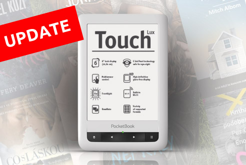 Update PocketBook Touch Lux 2