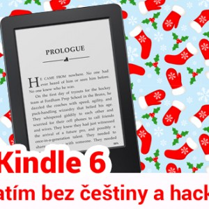 Čeština pro Kindle 6 zatím není