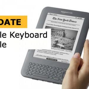 Nový update pro čtečky Kindle Keyboard a Kindle