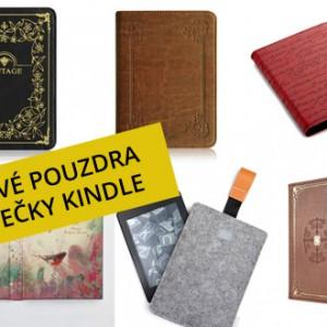 Stylová pouzdra (obaly) pro čtečky Amazon Kindle Paperwhite a  Kindle Voyage