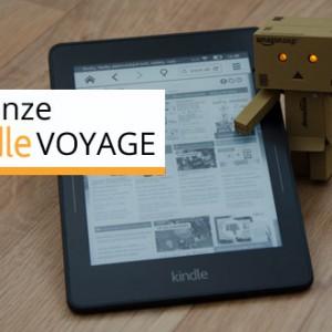 Recenze Kindle Voyage