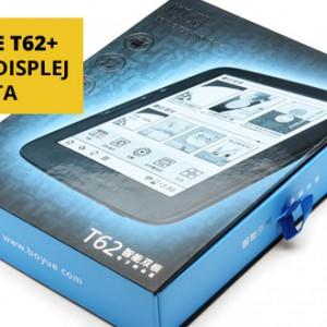 Čtečka e-knih Boyue T62+ s displejem E Ink CARTA a Androidem
