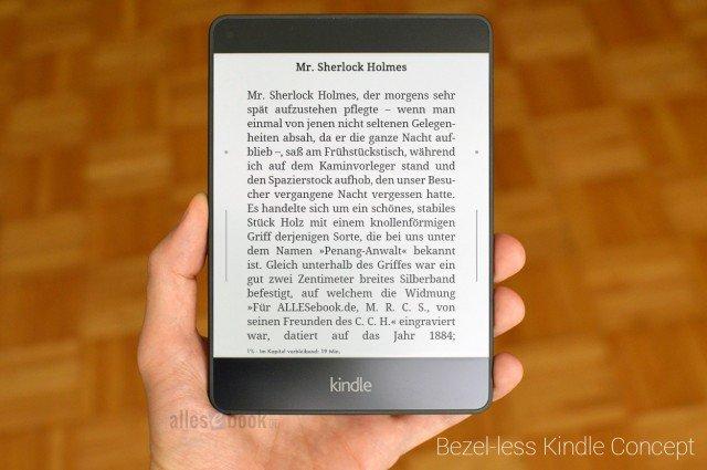 Koncpet Kindle Voyage