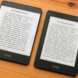 Koncept čtečky e-knih Kindle Voyage?