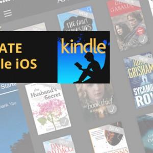 Amazon uvolnil novou verzi Kindle pro iPhony a iPady