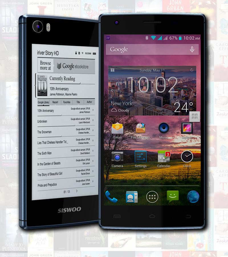 Smartphone s E Ink displejem