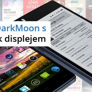 R9 Darkmoon další mobilní telefon s E Ink displejem na zadní straně