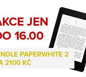 Super akce - Kindle Paperwhite za 2100 Kč jen do 15. 7. !!!