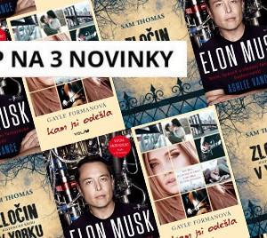 3 nové e-knihy 46. týdne