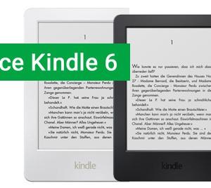 Čtečka e-knih Amazon Kindle 6 je nyní v akci