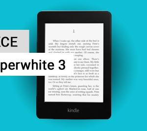 Super akce - čtečka e-knih Kindle Paperwhite 3 za 2680 Kč