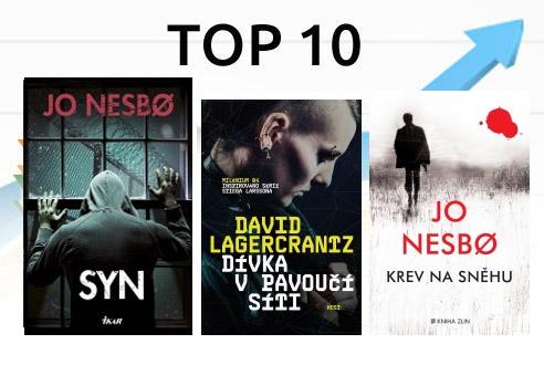 10 nejprodávanějších e-knih v říjnu 2015
